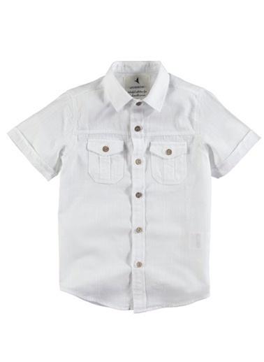Asymmetry Gömlek Beyaz
